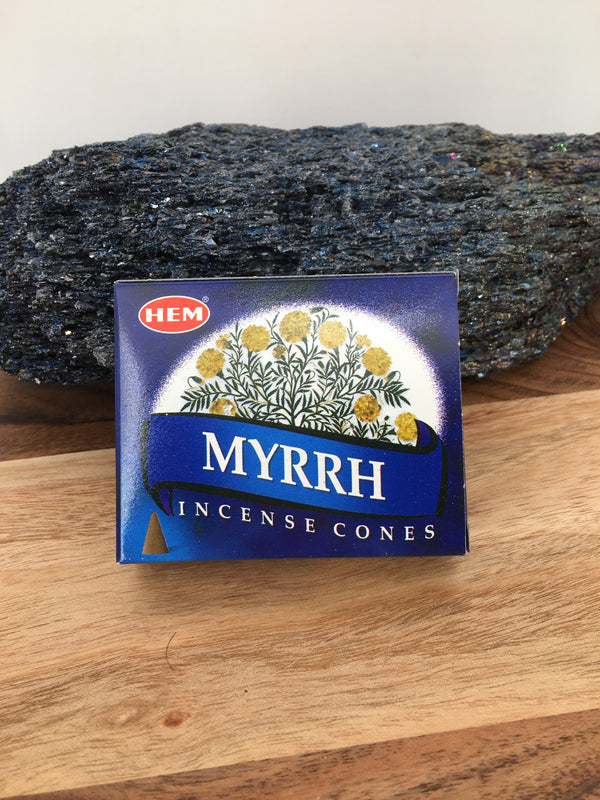 Myrrh Cone Incense