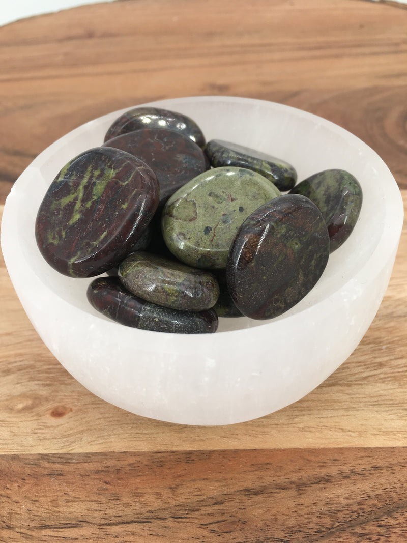 Dragon Blood Jasper Coins