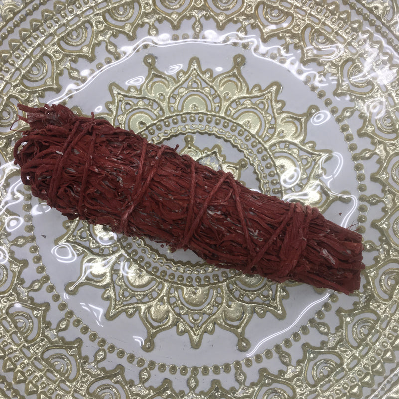 Dragonblood Resin & Mountain Sage Smudge Stick