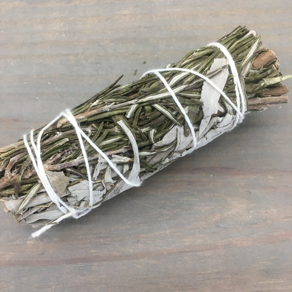 Rosemary & White Sage Smudge Stick