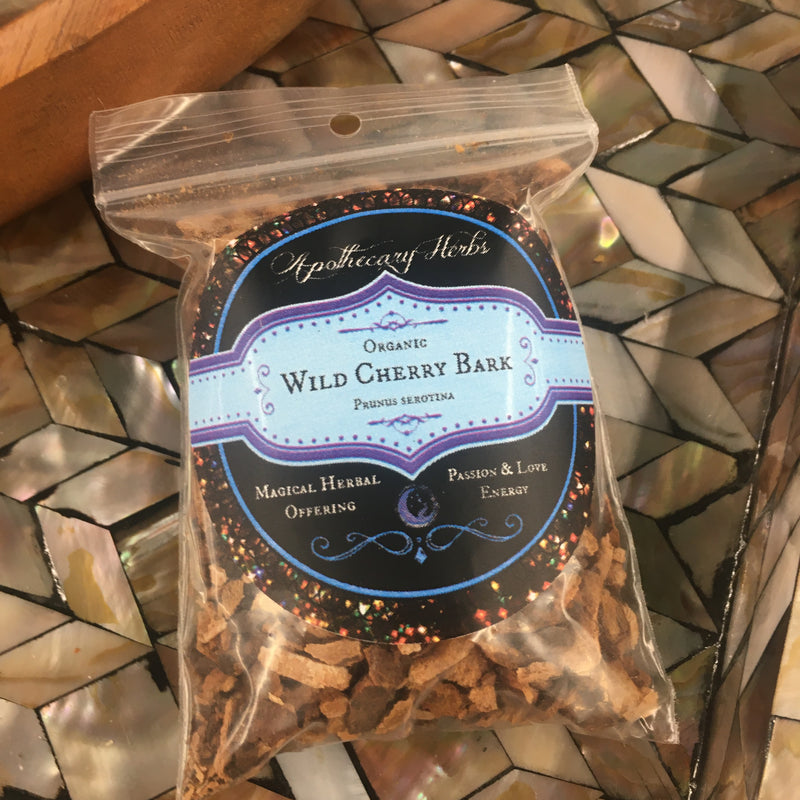 Wild Cherry Bark Organic Dried Herb