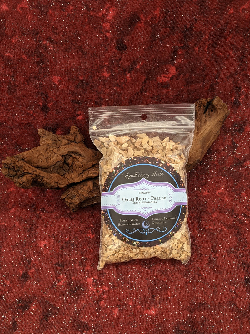 Orris Root (Peeled) Organic Dried Herb