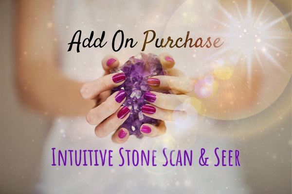 Add On Purchase: Custom Stone Scanning & Seering