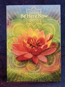 Be Here Now Inspirational Greeting Card