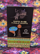 Tribal Soul White Sage and Palo Santo Backflow Incense Cones