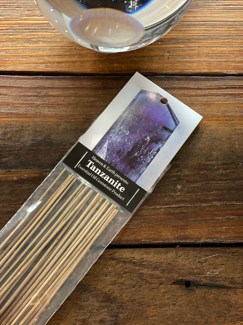 Gemstone Inspired Incense Sticks: Tanzanite