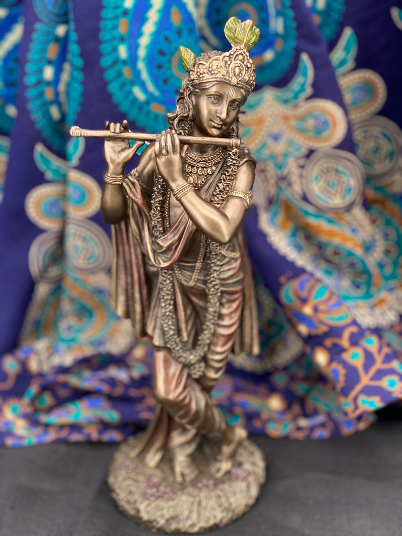 Krishna - Hindu God of Love and Divine Joy Statue
