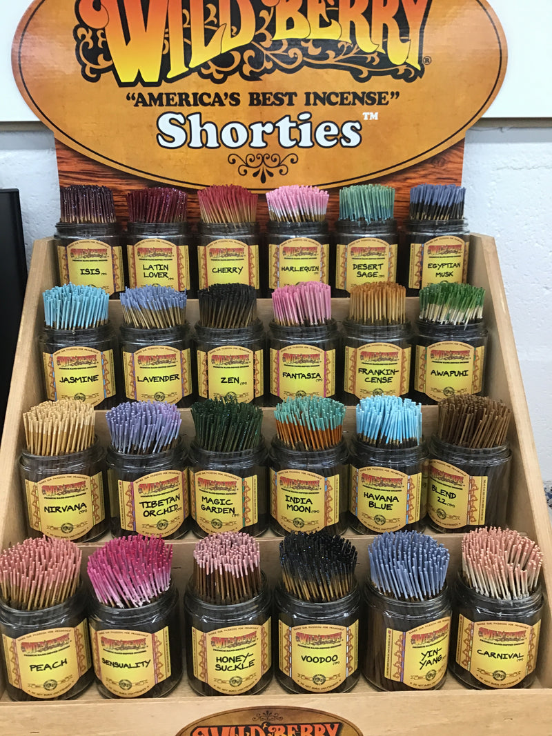 Wild Berry Shorties Incense Sticks 20 Pack Random