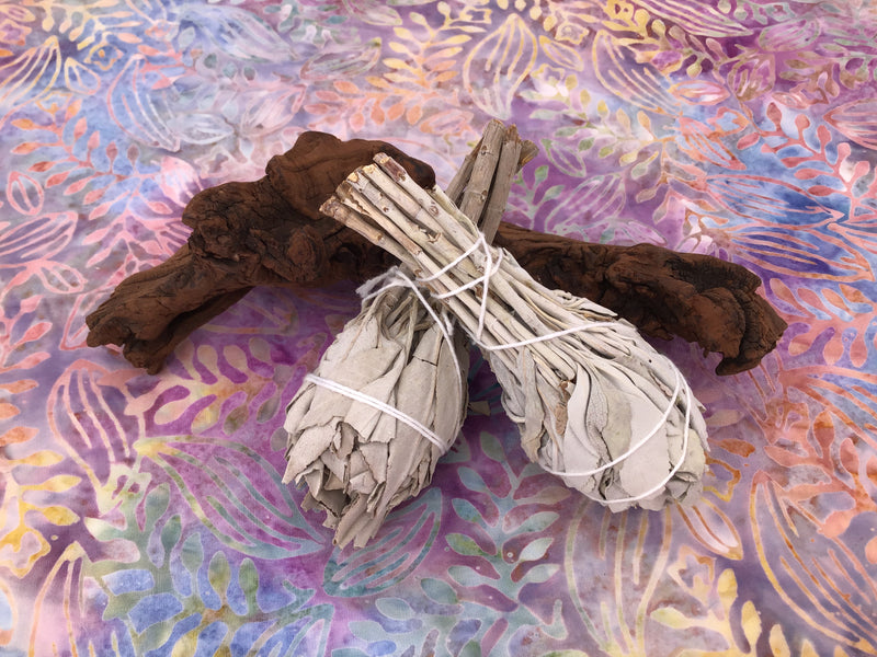 White Sage Torch Smudge Stick
