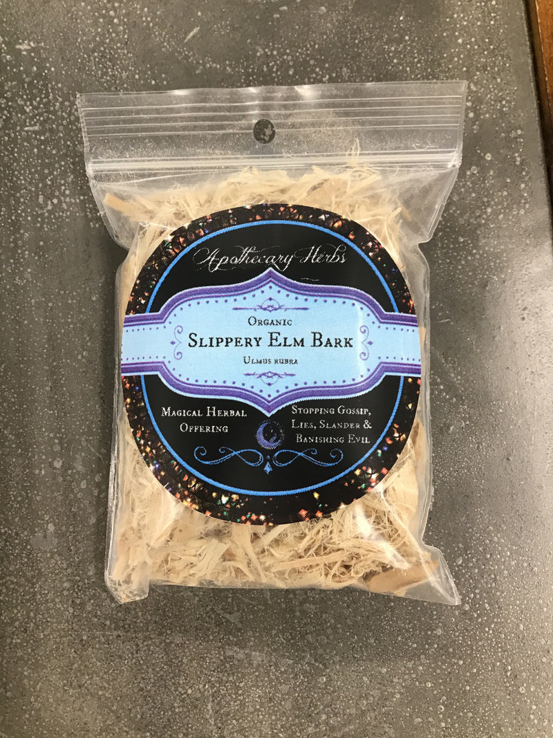 Slippery Elm Bark Organic Dried Herb