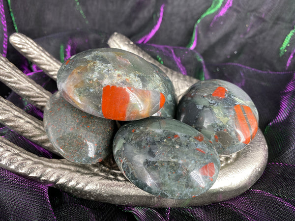 African Bloodstone Palm Stone (Medium)