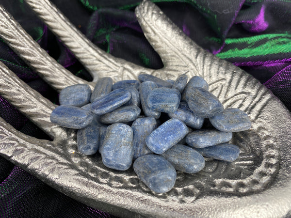 Blue Kyanite Tumbled Stones
