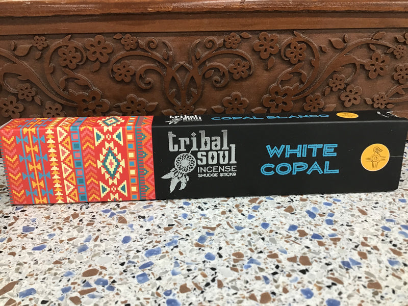 White Copal Incense Sticks by Tribal Soul