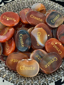 Carnelian Create Smooth Stone