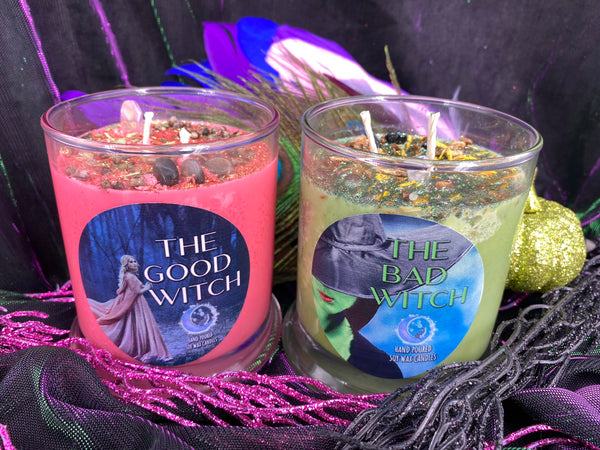 The Good Witch vs. The Bad Witch Candles