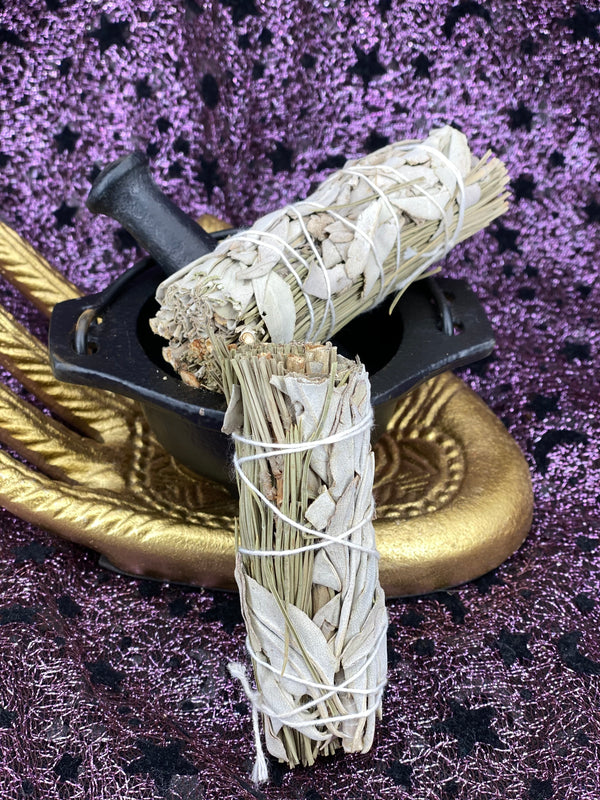 White Sage & Pine Smudge Sticks