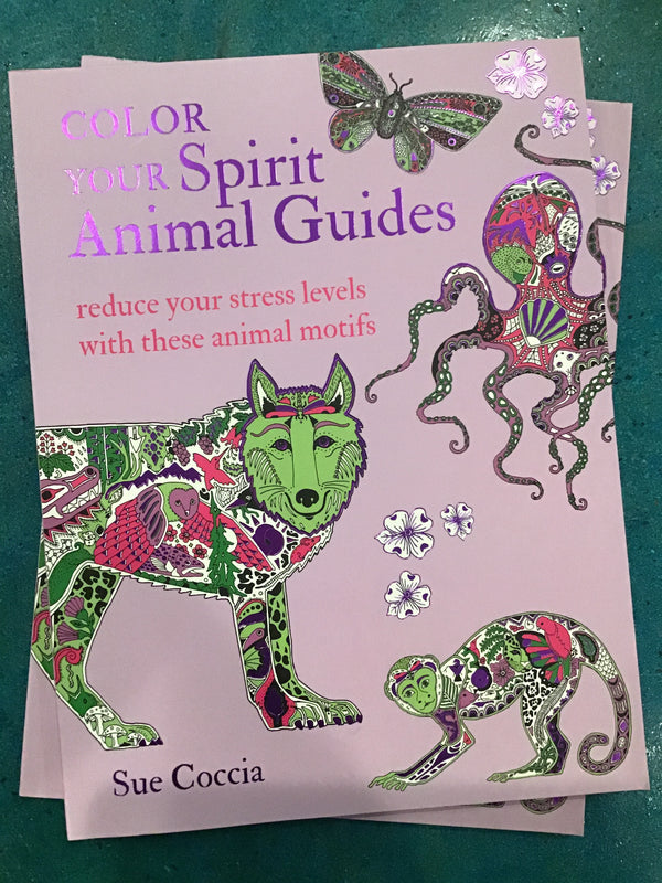 Color Your Spirit Animal Guides: Reduce Your Stress Levels with These Animal Motifs