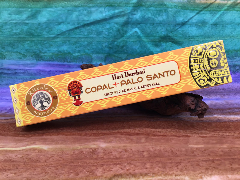 Copal and Palo Santo Incense Sticks by Hari Darshan