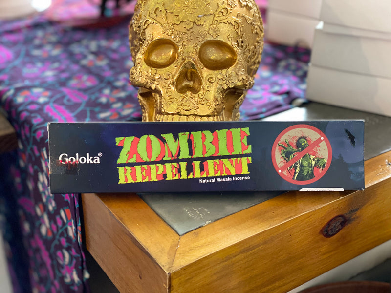 Zombie Repellent Incense Sticks by Goloka