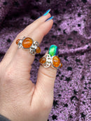 Baltic Amber 925 Sterling Silver Ring