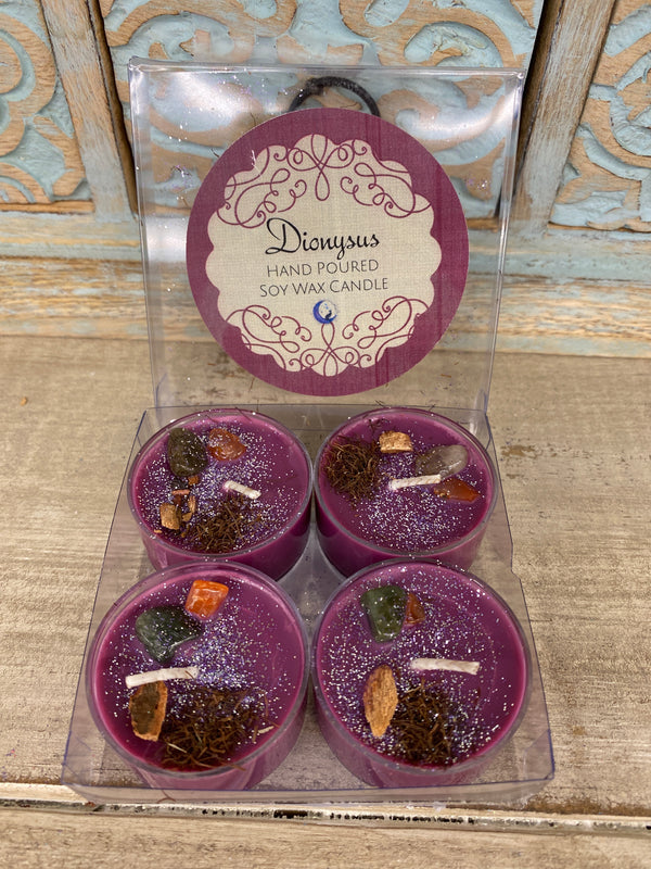 Dionysus Power Tealight Candle Set