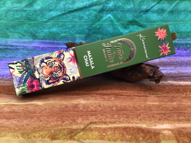 Masala Chai Incense Sticks by Tales of India