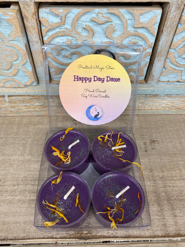 Happy Day Daze Tealight Candle Set