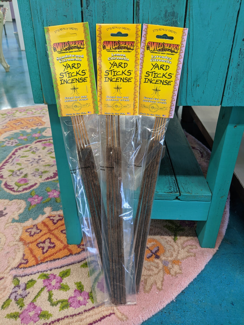 Lavender Citronella Incense Yardstick