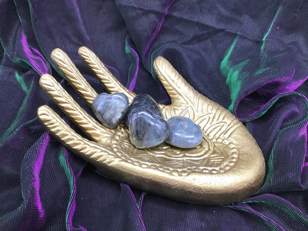 Labradorite Hearts (Small)
