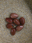 Red Goldstone Tear Drop Palm (Small)