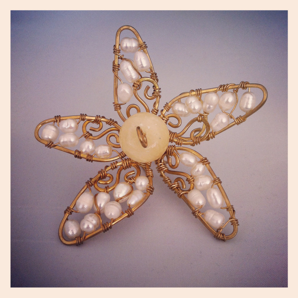Char Enchanted Flower Ring- Bejewelled Finger Adornment