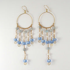 Serenity Earrings- Bejewelled Ear Adornments