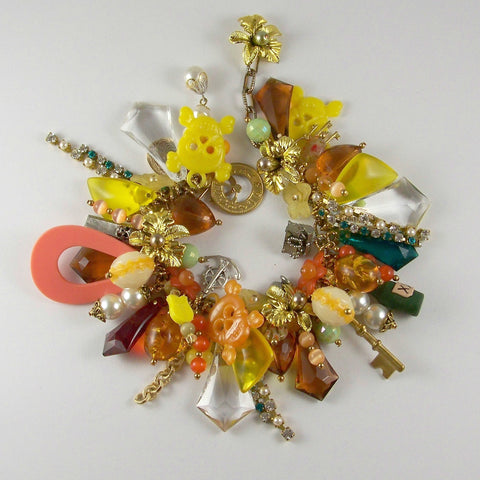 Treasure Island: Pirates Paradise- Charm Bracelet