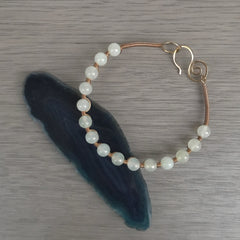 Sacred Stone Bangle- Jade