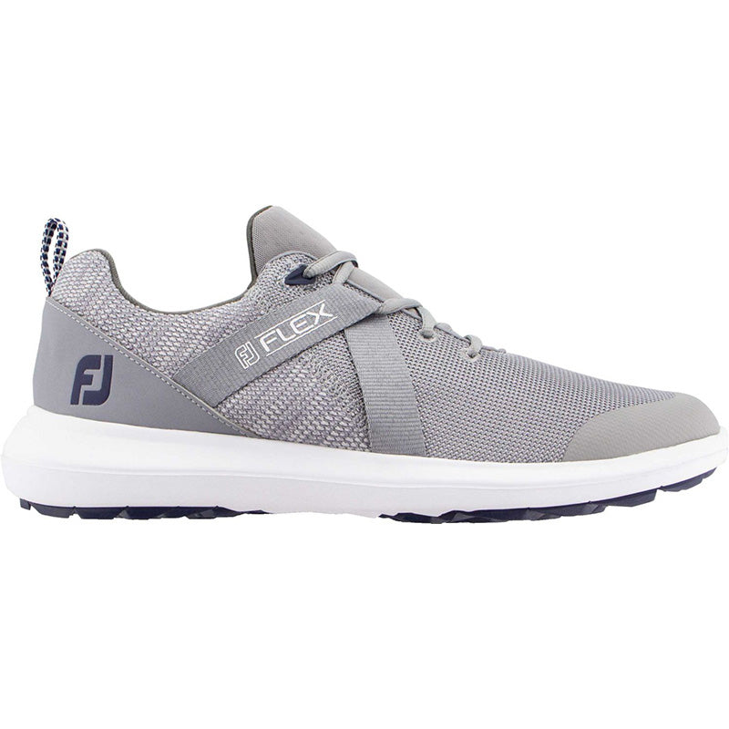 Footjoy Flex Golf Shoes - Grey - Previous Season Style