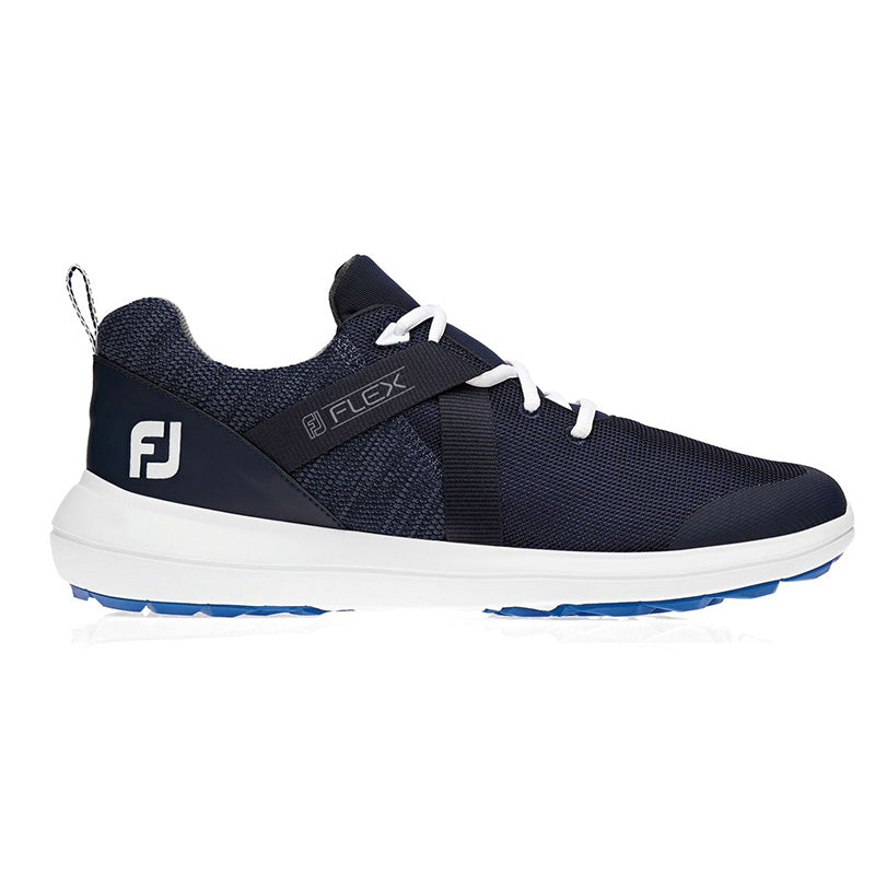 Footjoy Flex Golf Shoes - Navy - Previous Season Style - Size 7.5