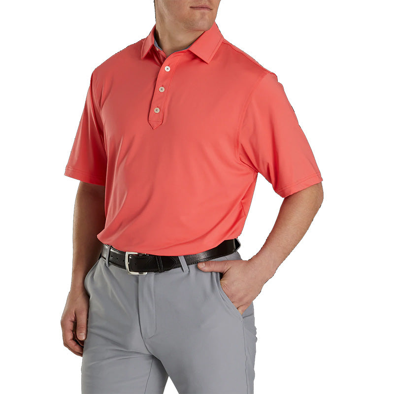 Footjoy Athletic Fit Lisle Solid Self Collar - Previous Season Style