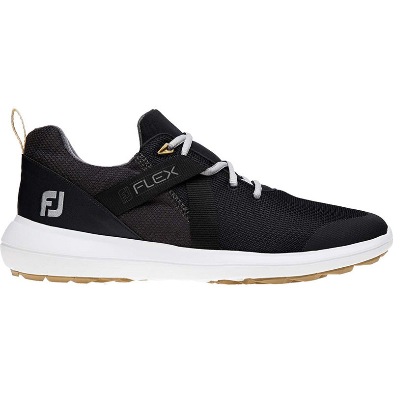Footjoy Flex Golf Shoes - Black - Previous Season Style