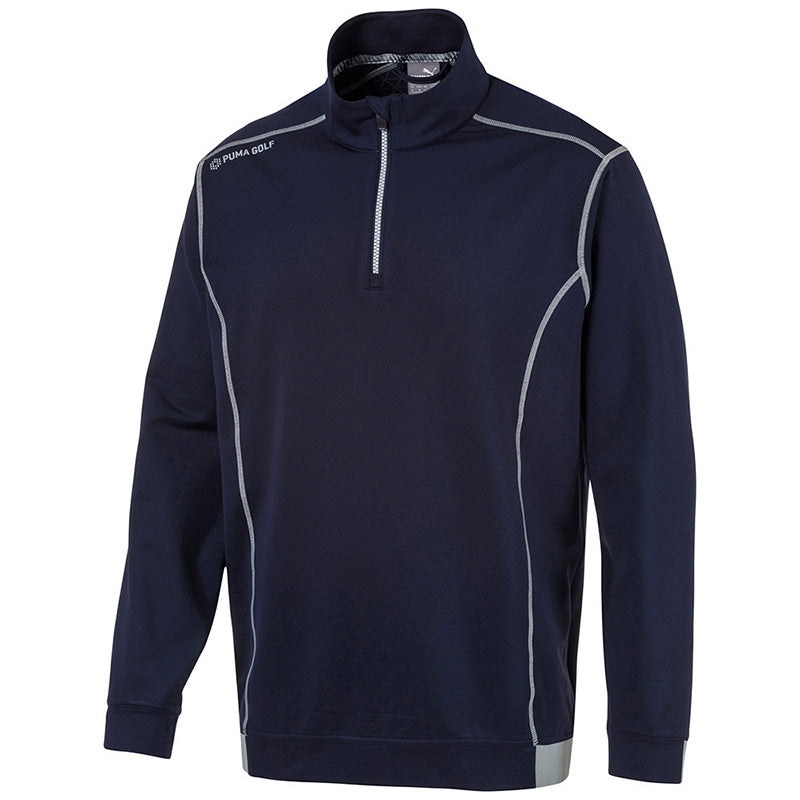 Puma Pwrwarm 1/4 zip Sweater - Navy