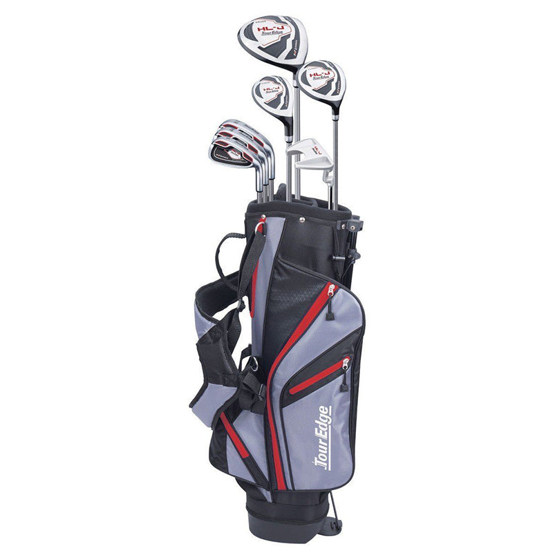 TOUR EDGE HOT LAUNCH HL-J JUNIOR GOLF SET - RED AGES 9-12
