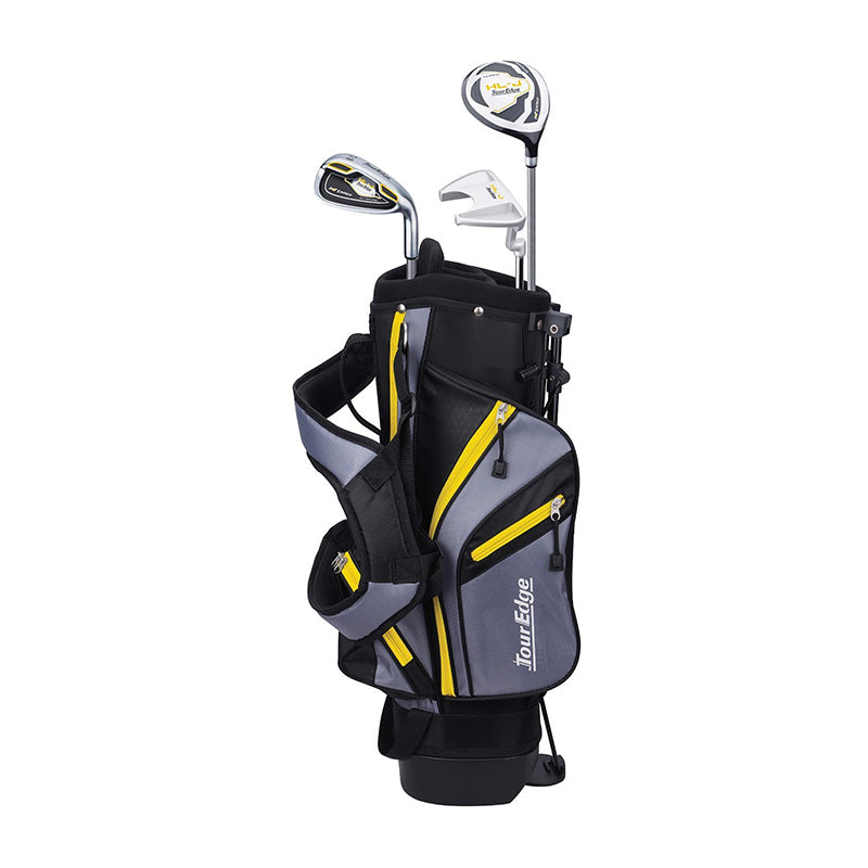 TOUR EDGE HOT LAUNCH HL-J JUNIOR GOLF SET - YELLOW AGES 3-6