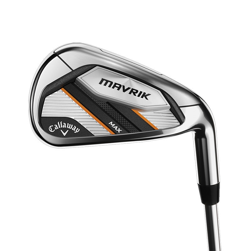 Callaway Mavrik Max Iron Set - 5-PW - Steel Shafts