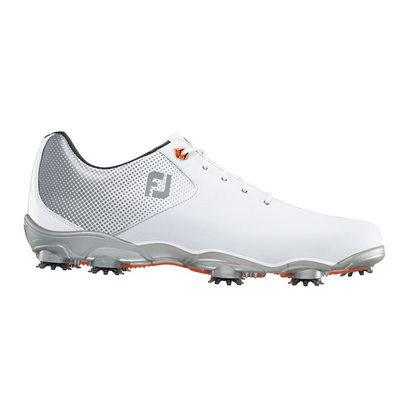 Footjoy DNA Helix Golf Shoes - White/Silver - Previous Season Style