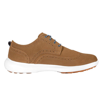 Footjoy FLEX LE1 Golf Shoes - Tan Suede - Previous season style