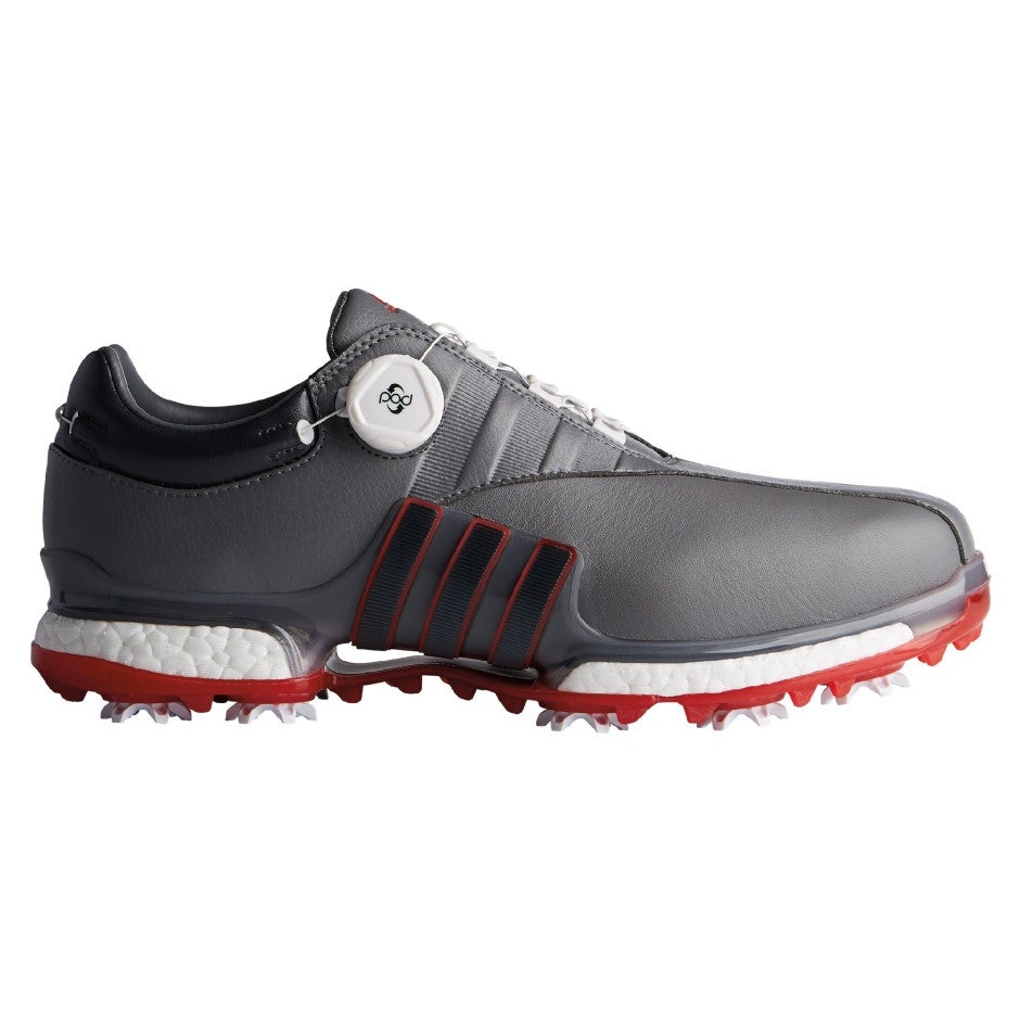 ADIDAS EQT Boa Golf Shoes - Scarlet Grey - Size 11.5