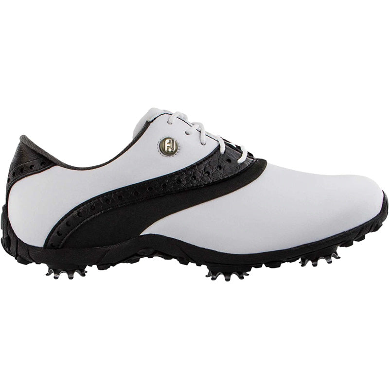 Footjoy Womens LoPro Collection - White/Black - Previous Season Style