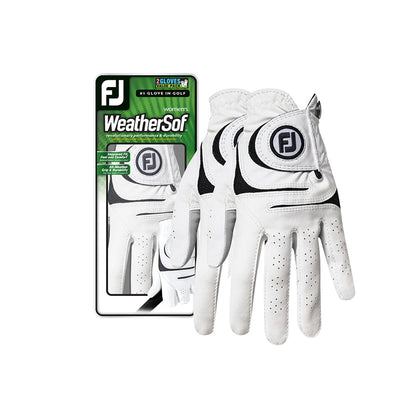 Footjoy Weathersof 2-Pack Womens Gloves
