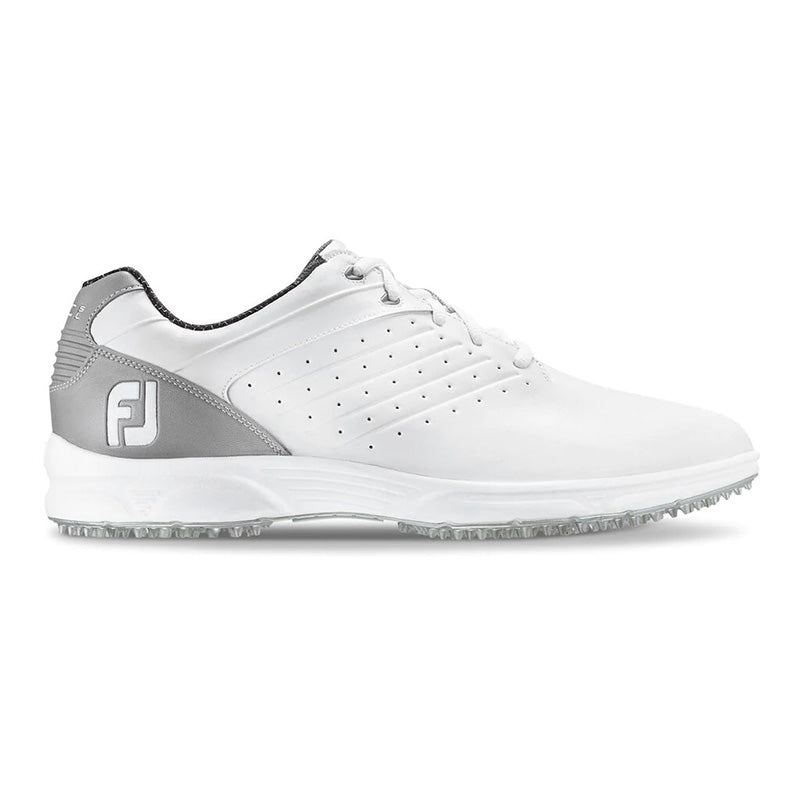 Footjoy Arc SL Golf Shoes - White/Grey - Previous Season Style - Size 8