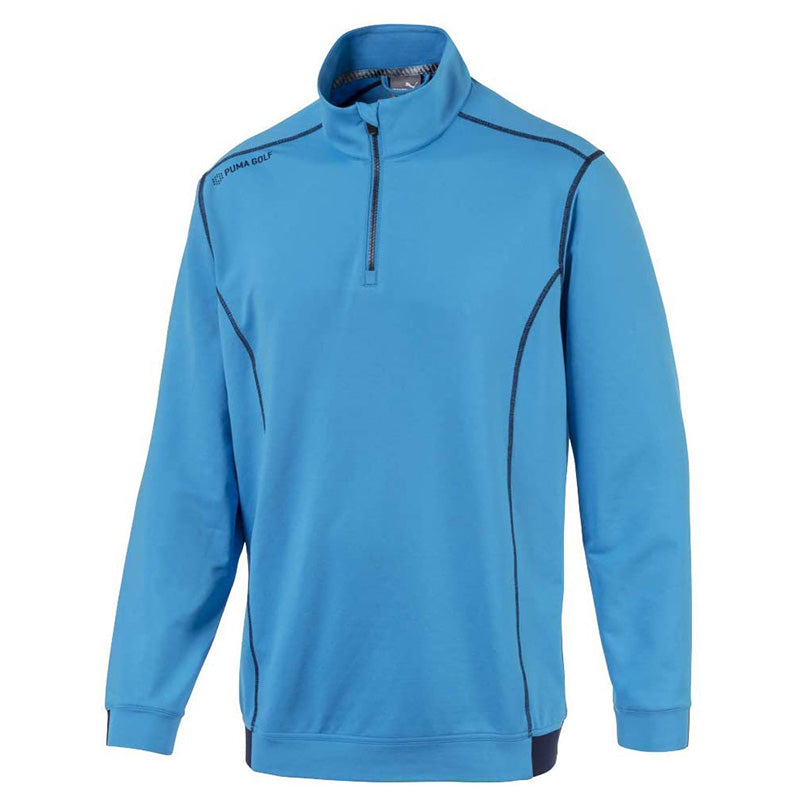 Puma Powerwarm 1/4 zip Sweater - Bleu Azur