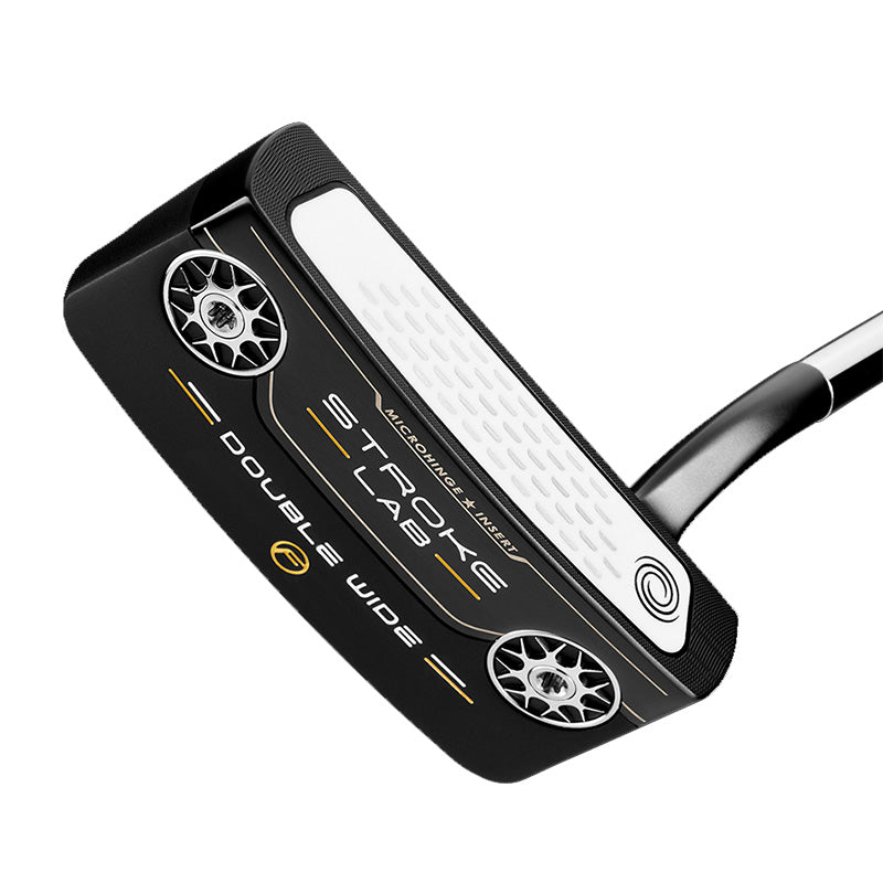 Odyssey Stroke Lab Black Double Wide Flow Putter - Pistol Grip - Right hand 34""